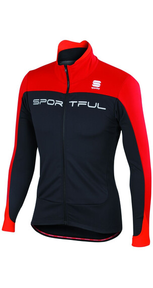 Sportful Flash Jas rood/zwart